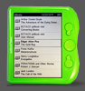 jetBook mini ebook reader Lime Green
