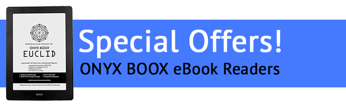 ONYX BOOX Electronic Readers