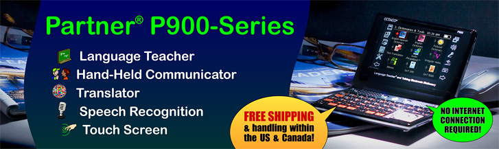 ECTACO Partner 900 - Talking Electronic Dictionary and Audio