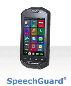ECTACO SpeechGuard TLX: Rugged World Travel Smartphone, Voice Translator & Language Assistant