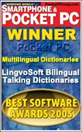 LingvoSoft Bilingual Talking Dictionaries win Fifth Annual Best Software Awards!
