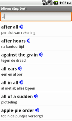English-Dutch Talking Idioms for Android