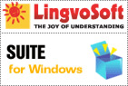 LingvoSoft Suite English <-> Turkish for Windows
