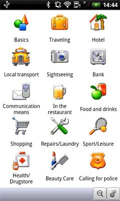 Ectaco Western European PhraseBook Pack for Android