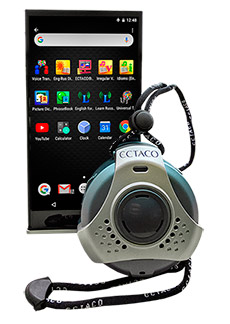 ECTACO iTRAVL VIZ 10 English <-> French 2-way OFFLINE Voice Translator, Electronic Dictionary & Language Assistant