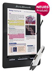 JetBook Color Schwarz 2 Deluxe mit Triton 2 Bildschirm