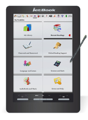ECTACO German jetBook Color Black