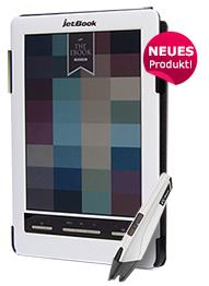 JetBook Color 2 Deluxe mit Triton 2 Bildschirm