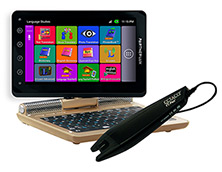 ECTACO Partner LUX 2 PRO Russian <-> Spanish Free Speech Electronic Translator & Language Teacher - Learn Rissian & Spanish with C-Pen Scanner