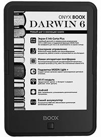 ONYX BOOX Darwin 6 E-Reader Device