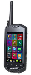 ECTACO Multi 8 language SpeechGuard TLX: Rugged World Travel Smartphone, Voice Translator & Language Assistant for Russian speakers