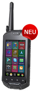 ECTACO SpeechGuard TLX English <-> Arabic: Rugged World Travel Smartphone, Voice Translator & Language Assistant