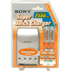 Sony BCG-34HLD4 Sony NiMH AA Battery Power Charger