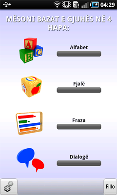 Learn English - Language Teacher for Albanian Speakers for Android