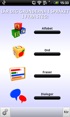 Learn English - Language Teacher for Swedish Speakers for Android