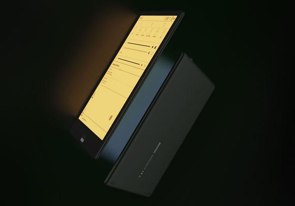 Screen frontlight system